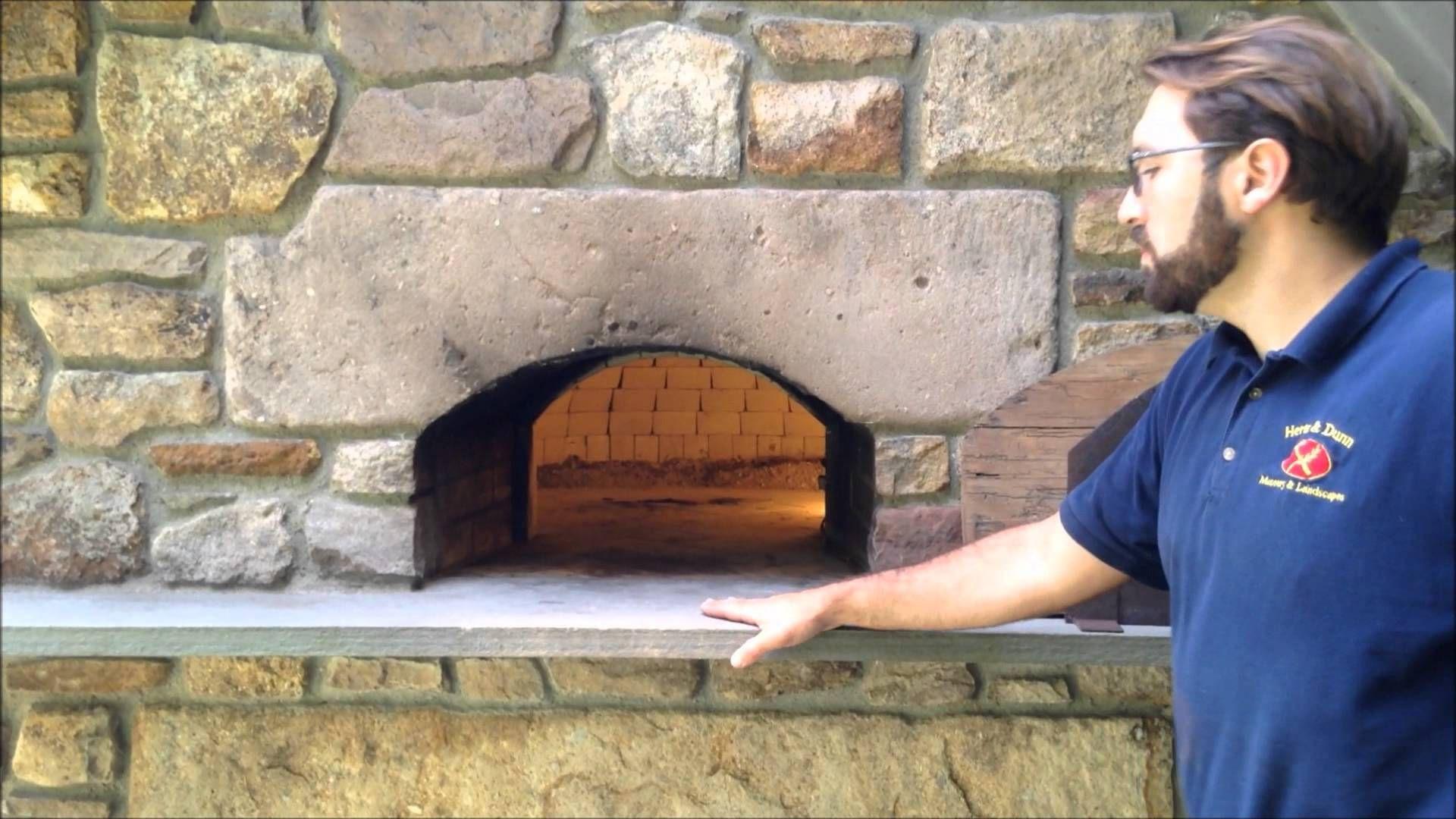 Italian Style Brick Oven Pizza Oven Backyard Barbecue Brick Oven