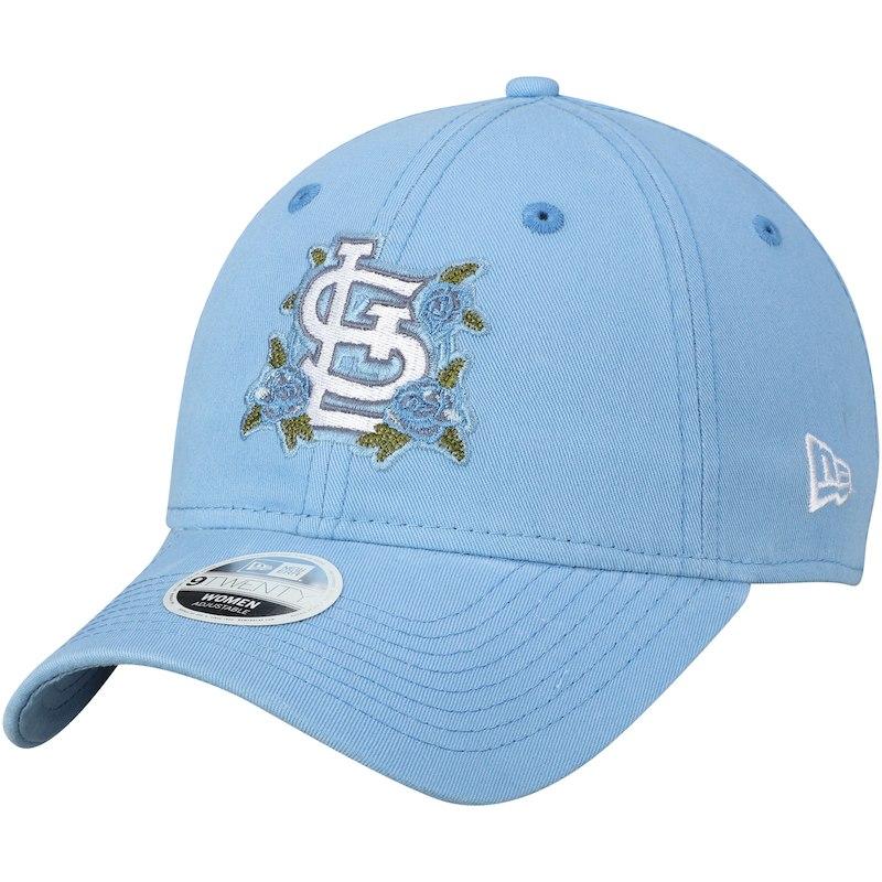 9d6fbe07 St. Louis Cardinals New Era Women's Bloom 9TWENTY Adjustable Hat ...