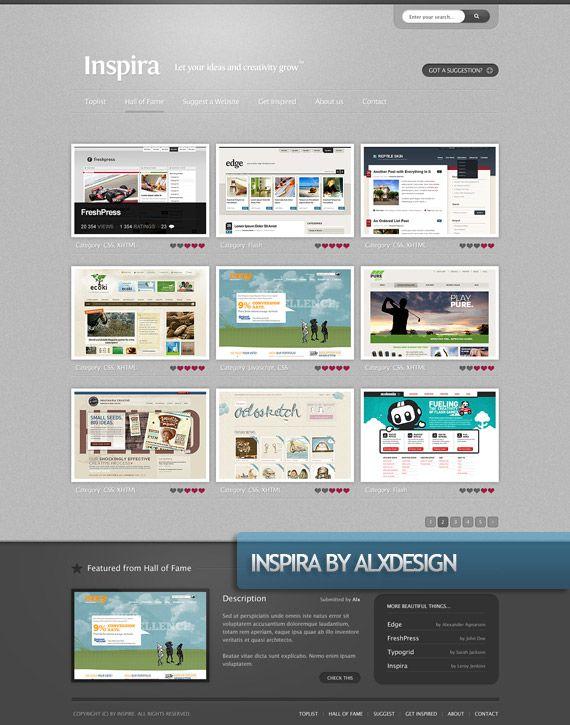 inspira-creative-web-design-layout-inspiration | 1. WebDesign ...