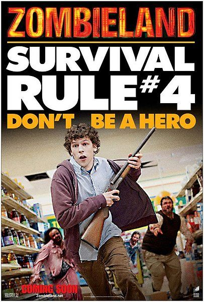 24 Frames How To Survive The Post Apocalypse Rotten Tomatoes Zombieland Movie Zombieland Zombie Movies