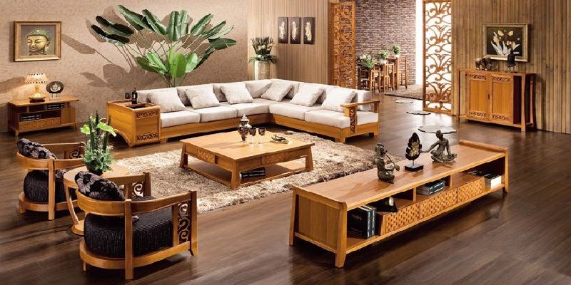 Sala Set Design Small House Wooden Sofa Designs Living Room