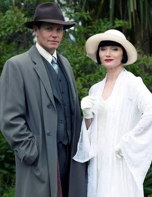"thehonorablephrynefisher: "" ""22/… of Miss Fisher's Murder Mysteries Edits "" """