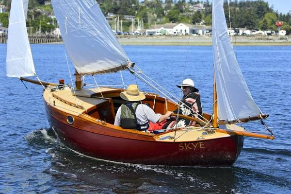 Wm Garden Eel Canoe Yawl Sailboat Just Restored Boat Sailing Dinghy Sailing Yacht