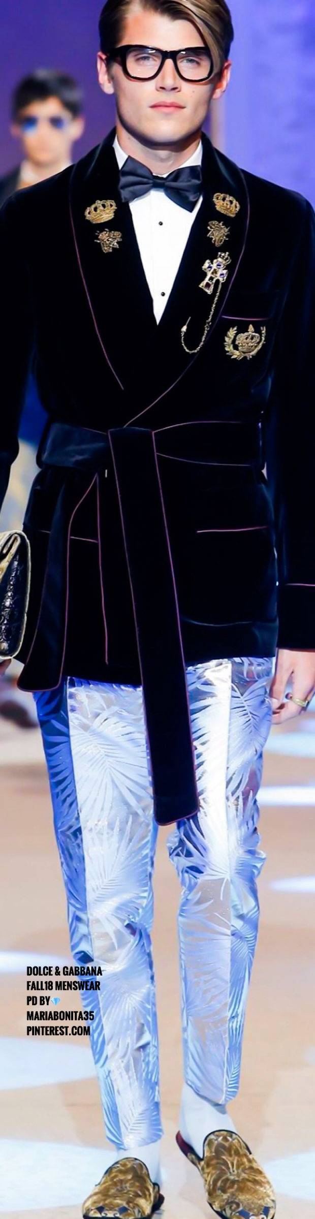Dolce & Gabbana #suitvest #suit #vest #runway