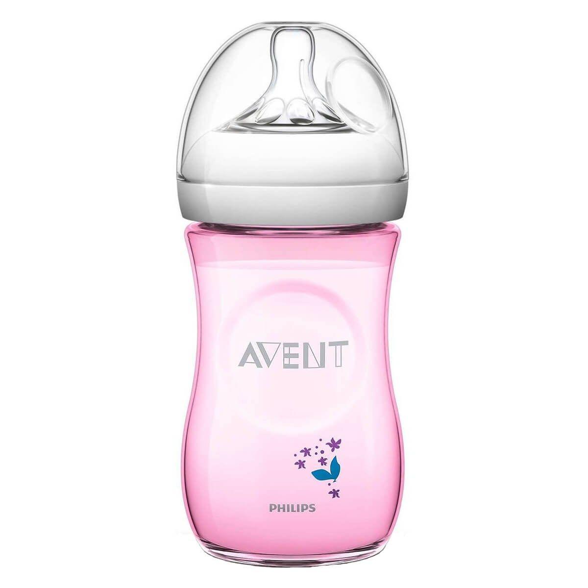 Avent natural feeding bottle 1m 1 pack 260ml9oz baby