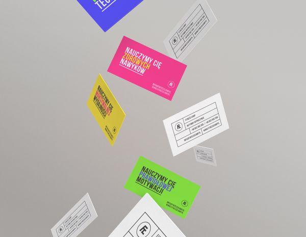 Fitness Camp - Business Card Design Inspiration   Card Nerd