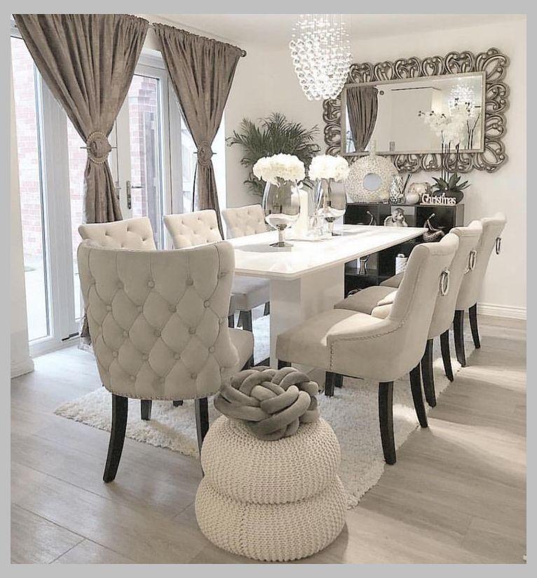 Quando A Sala De Jantar é Puro Aconchego Amei Via Ivys Luxury Home Home Idea Por Dining Room Inspiration Dining Room Table Decor Dining Room Design