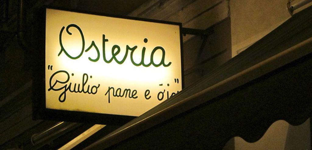 Italy - Milão - Osteria Giulio pane Ojo