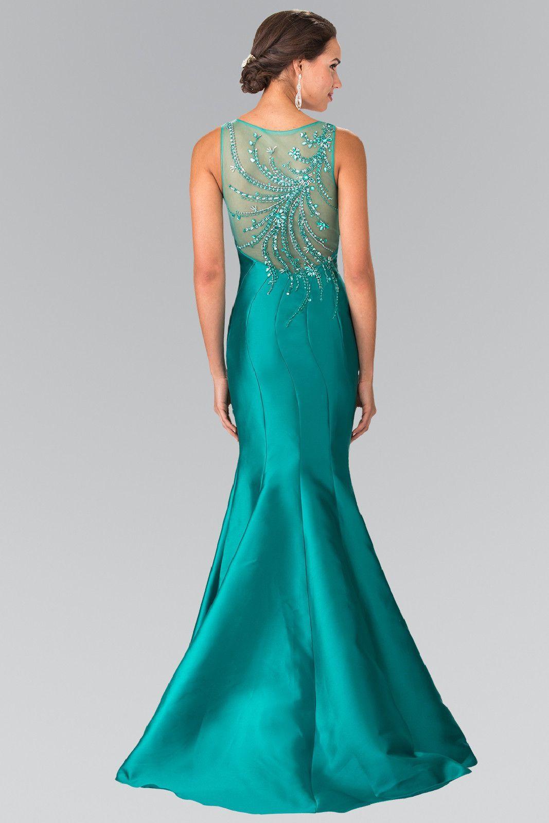 Mikado beaded runway mermaid prom dress trumpet evening gown xs