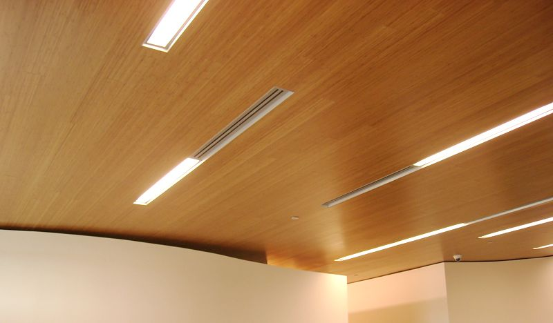 Wood Ceiling And Wall System Image
