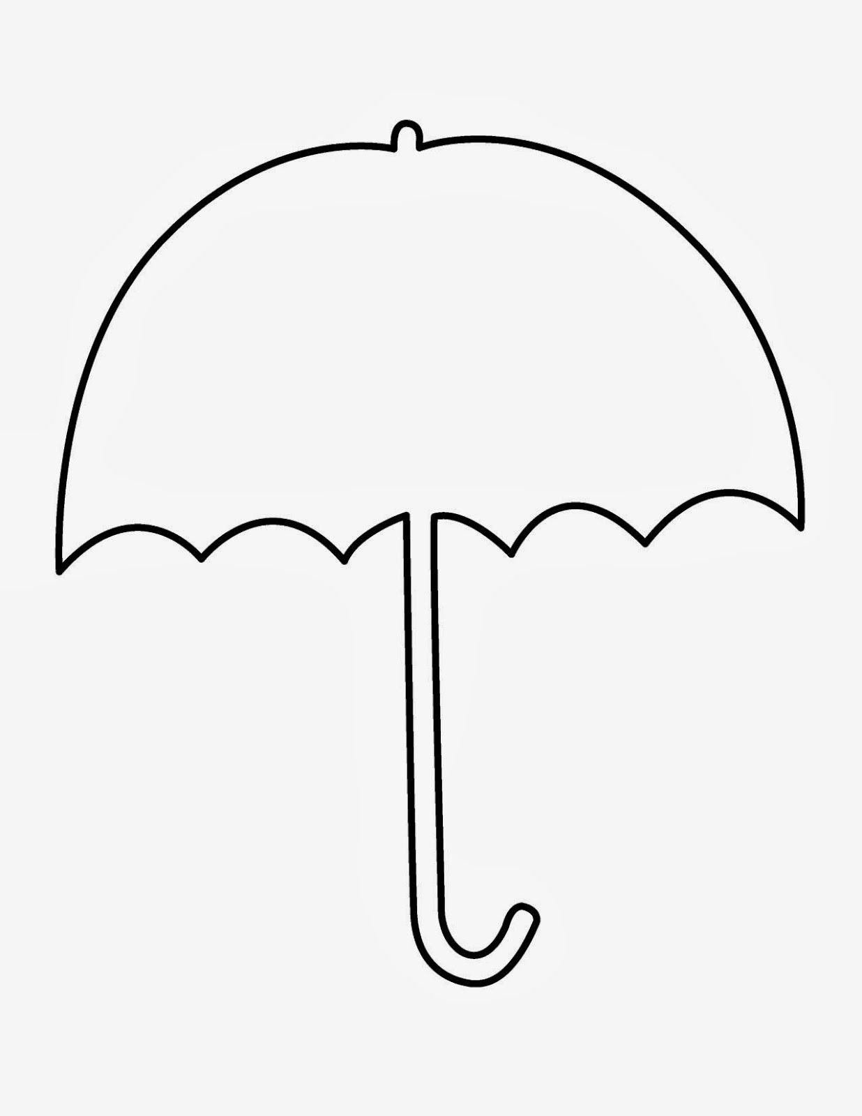 Spring Book 2 Yellow Umbrella Umbrella Template Umbrella