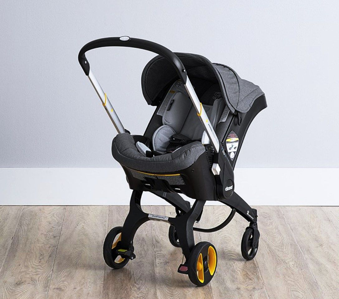 Meet the Car Seat That Converts Into a Stroller in Seconds