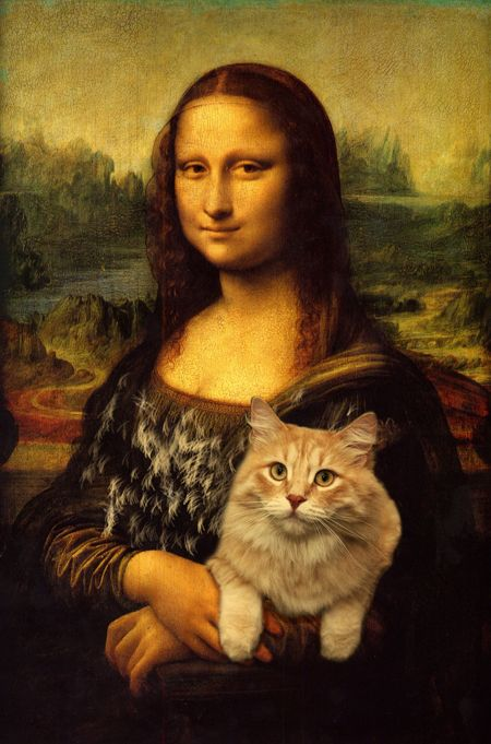 Photo of Index of blogs/tumblrs/pin board et cetera of cats and art history.