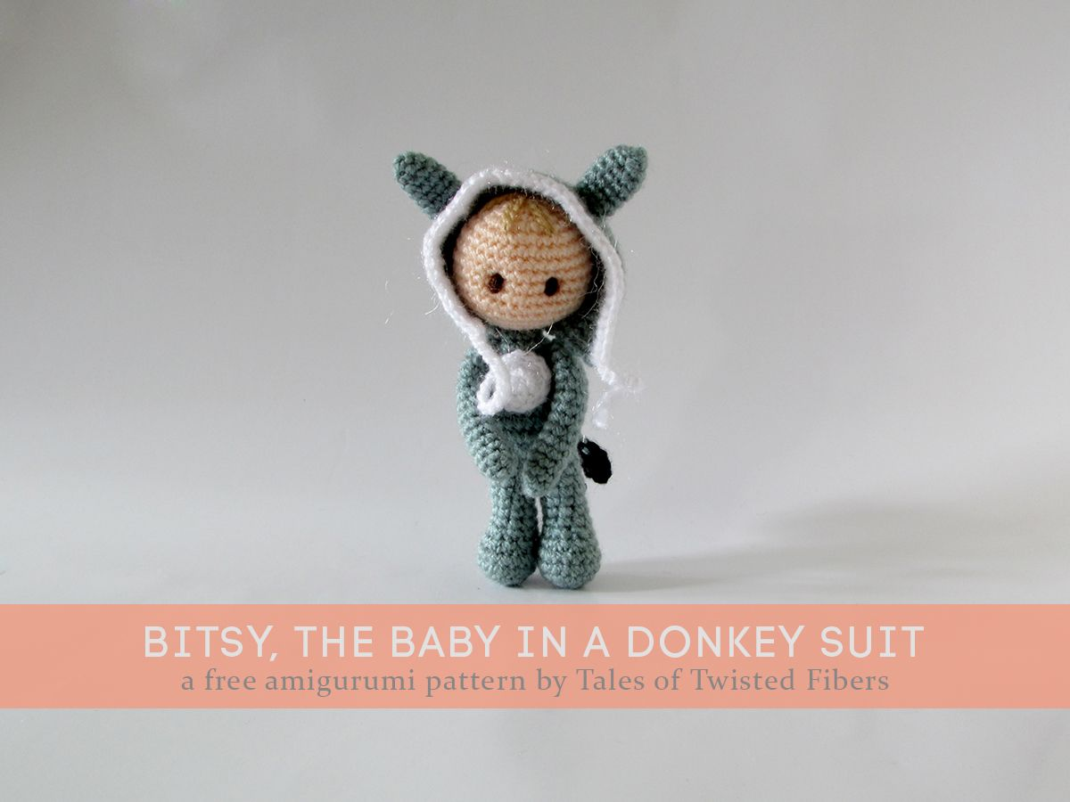 Bitsy the Baby in a Donkey Suit | Projects to Try | Pinterest