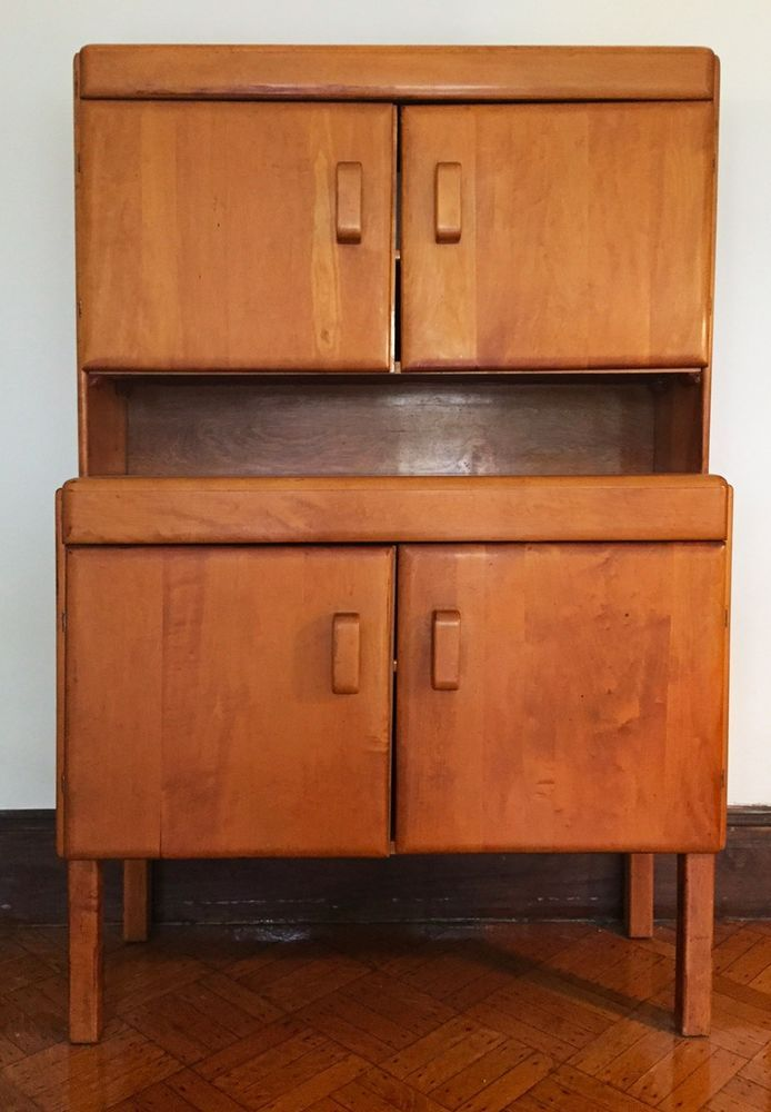 Russel Wright Mid Century Hutch #RusselWright