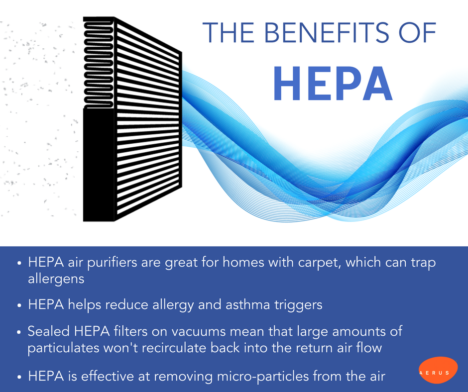 The Amazing Benefits of HEPA Filters Hepa filter, Hepa
