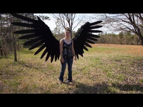 d2916bf61 Pneumatic Articulated Wings By Phenomenon Props And Effects -- Supernatural  cosplay. Castiel, much?
