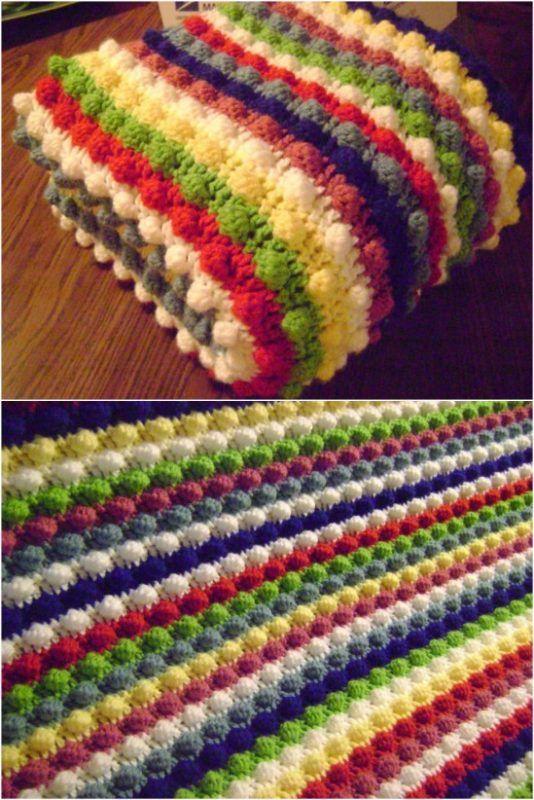 25 Quick And Easy Crochet Blanket Patterns For Beginners | Crochet ...