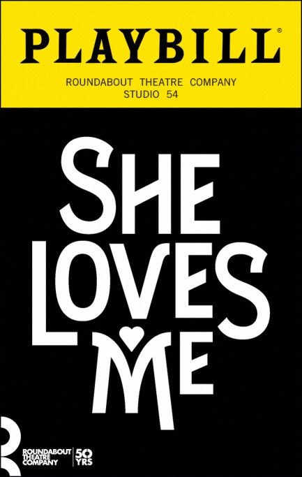 She Loves Me Playbill July 2016 With Images She Loves Me Musical Love Her Jane Krakowski
