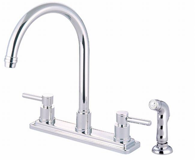Concord Chrome Leverhandle Kitchen Faucet  Overstock Fair Discount Kitchen Faucets Decorating Design