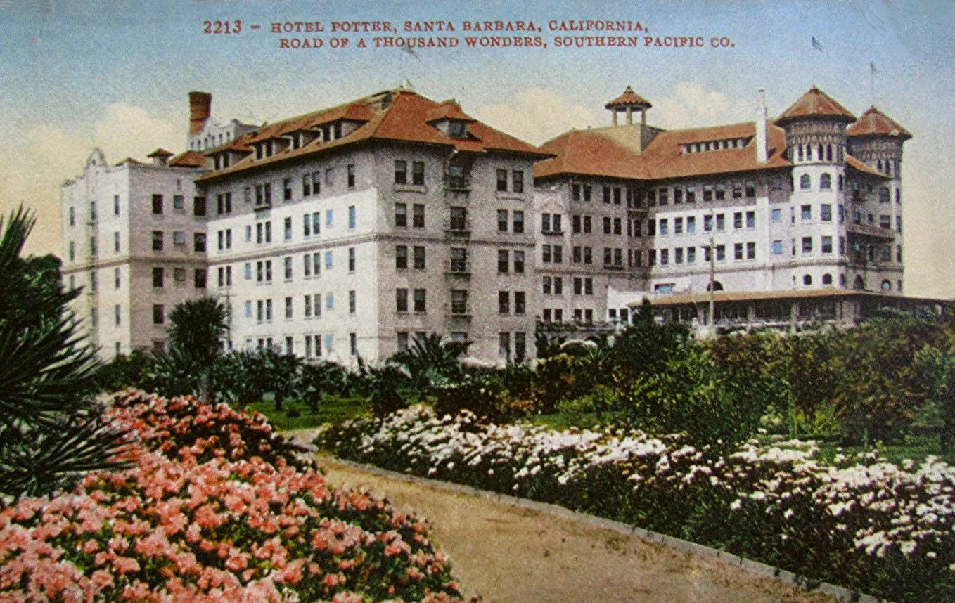 The Potter was a large seaside hotel in Santa Barbara for 18 years.