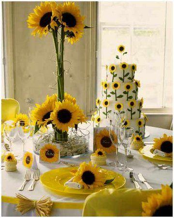 Decoracao Girassol Sunflower Themed Wedding Summer Wedding
