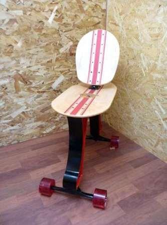 Skateboard Isukebo Office Chair
