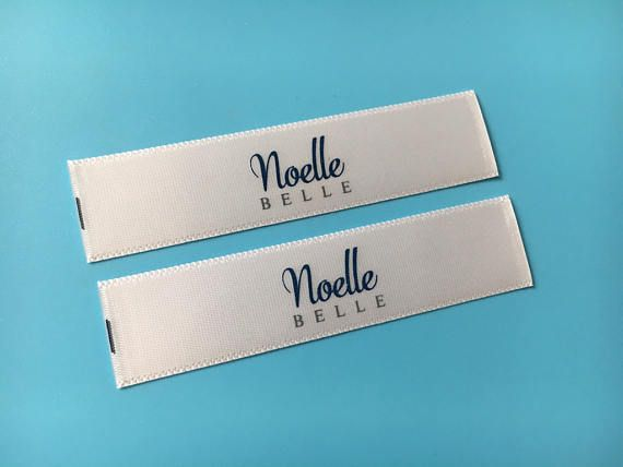 120  Personalized Clothing Sewing Labels SEW-IN