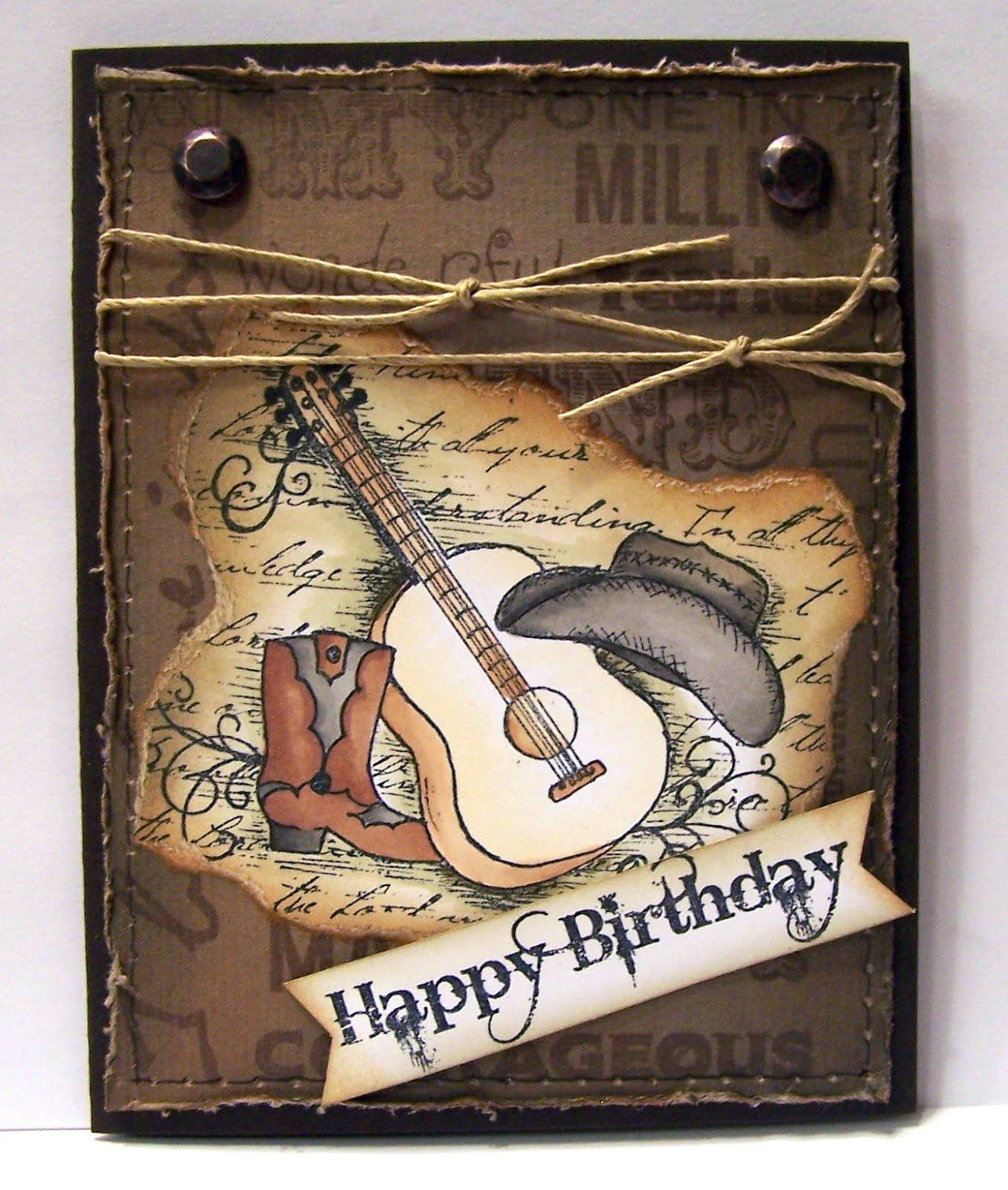 Masculine Birthday Cards, Masculine Cards