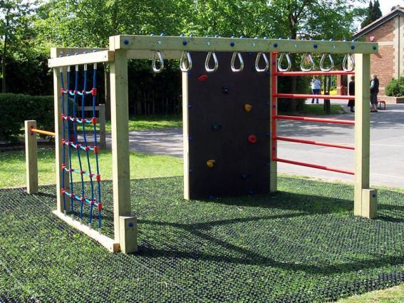Jacob S Ladder Climbing System Climbing Frames Systems Play Area Backyard Backyard For Kids Backyard Playground