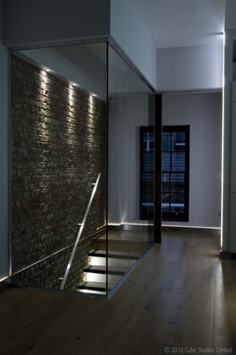Best Glass Balustrade Partition Cloison Escalier Cave 640 x 480