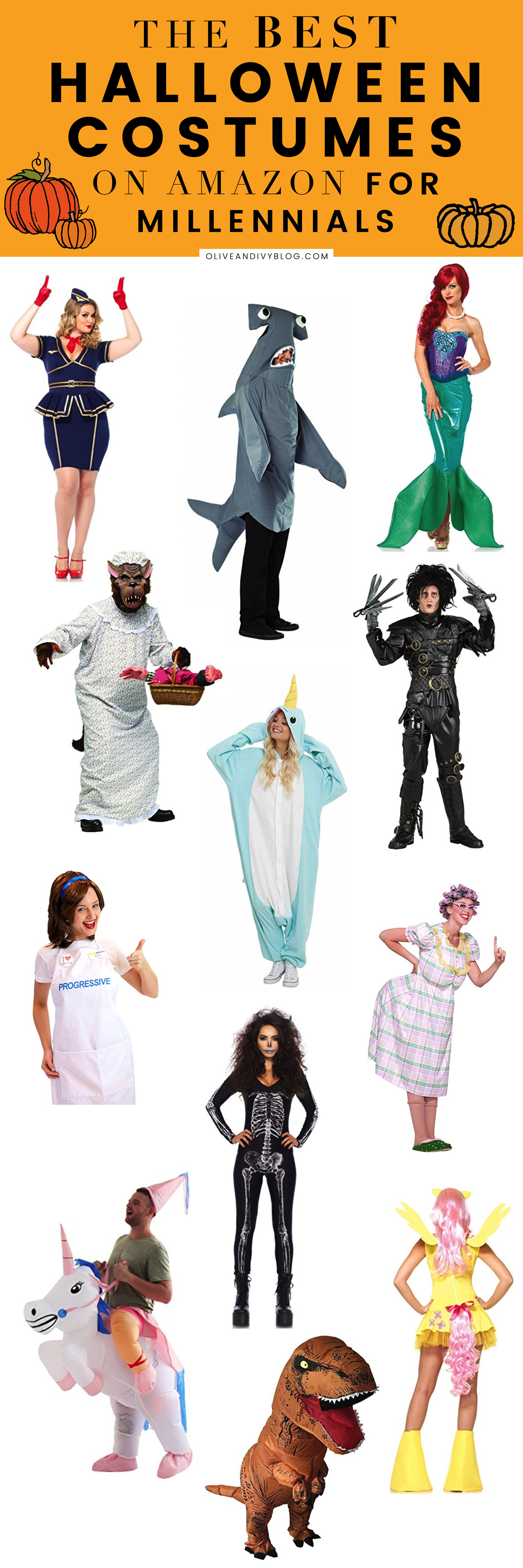The Best Halloween Costumes on Amazon (For Millennials