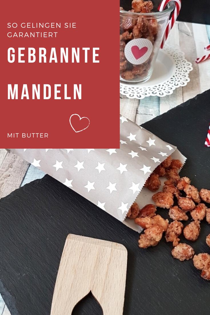 Gebrannte Mandeln mit Butter  #gebranntemandeln