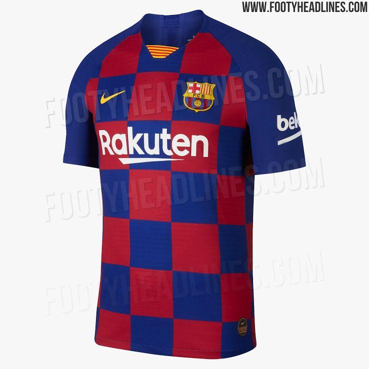 77c31950c37 Barcelona 19-20 Home Kit Leaked - Footy Headlines