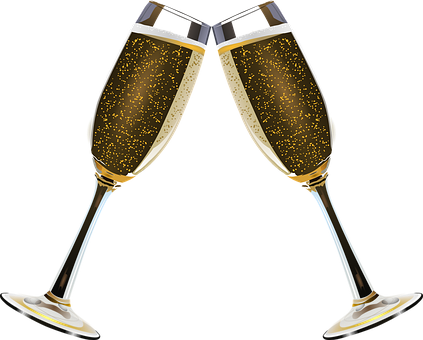 Champagne Clink Glasses Alcohol Alcohol Champagne Champagne Flute
