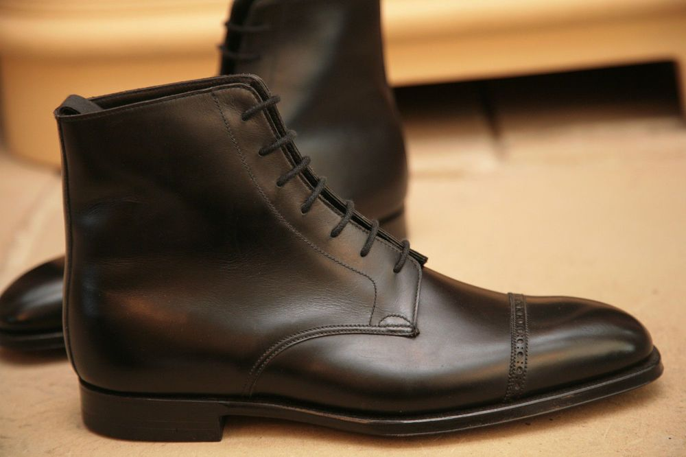 c2240f417f19 Handmade Men s Ankle Dress Boot
