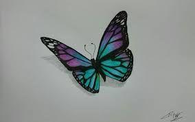Resultado De Imagen De Mariposas Para Dibujar A Lapiz Mariposa En
