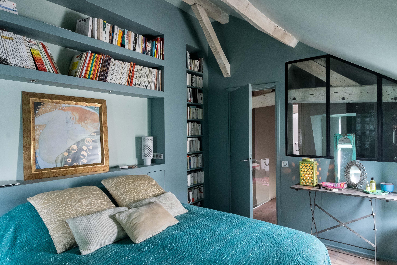 Gcg Architectes mazarine gcg architectes combles bedrooms