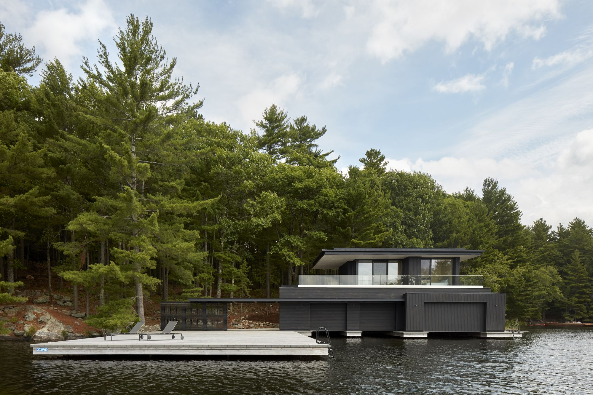Muskoka Boathouse Akb Architects Architektur