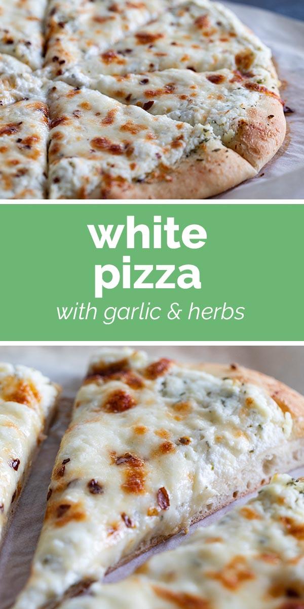 Photo of White Pizza Recipe