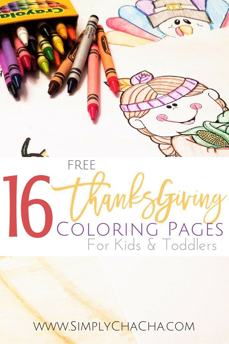 16 Free Thanksgiving Coloring Pages for Kids& Toddlers