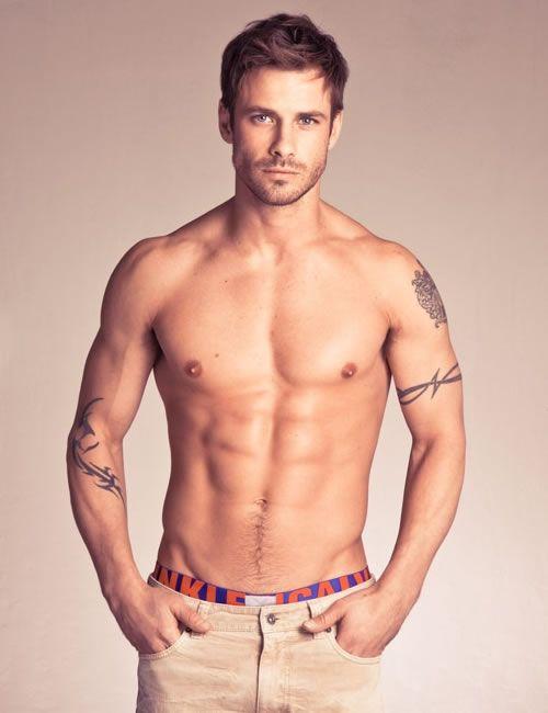 Andrew Stetson. Carpenter turned model. :)