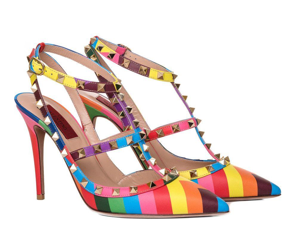 Zapatos Valentino Multicolor
