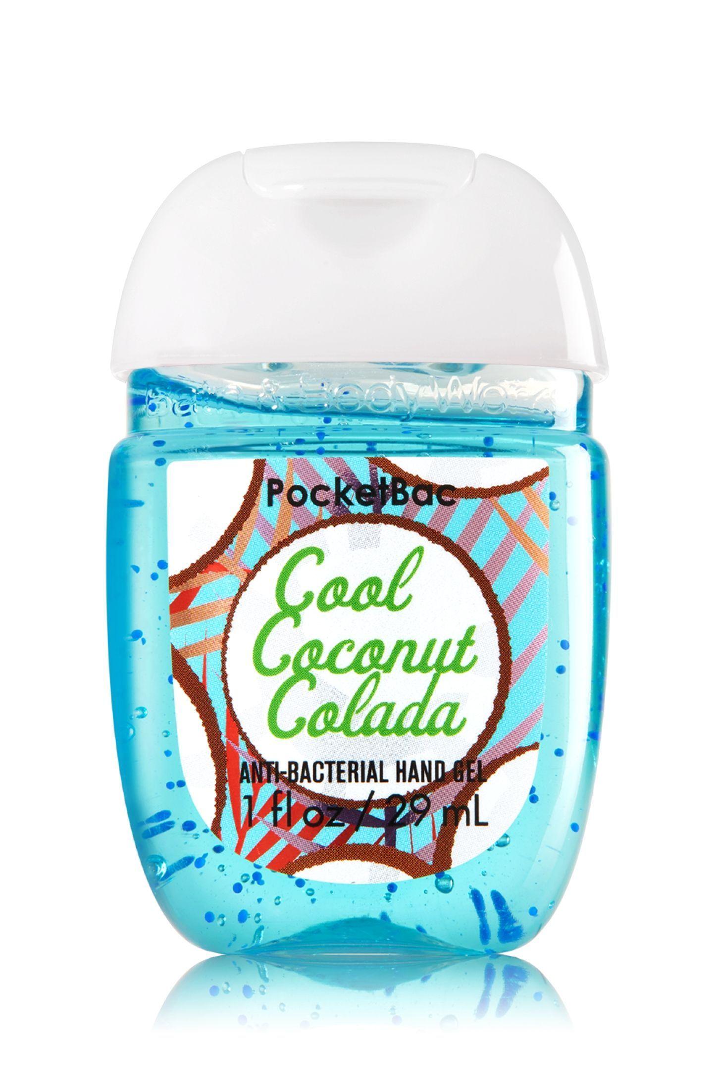 Cool Coconut Colada Pocketbac Sanitizing Hand Gel Soap Sanitizer