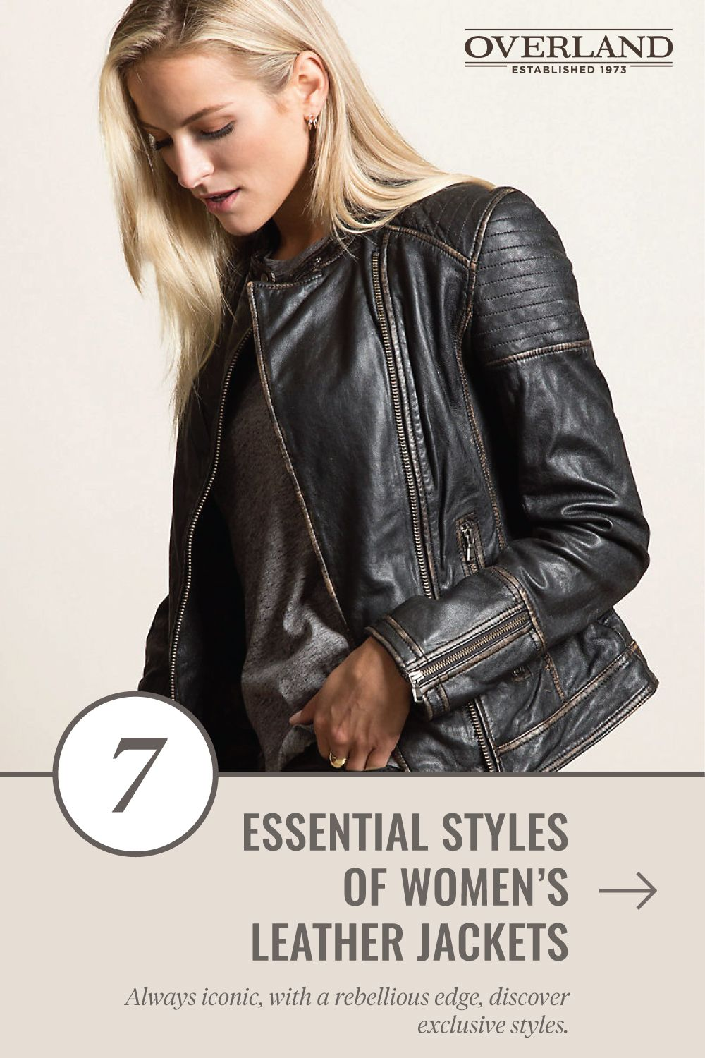 Your Guide to Women's Leather Jackets 7 Chic Styles to