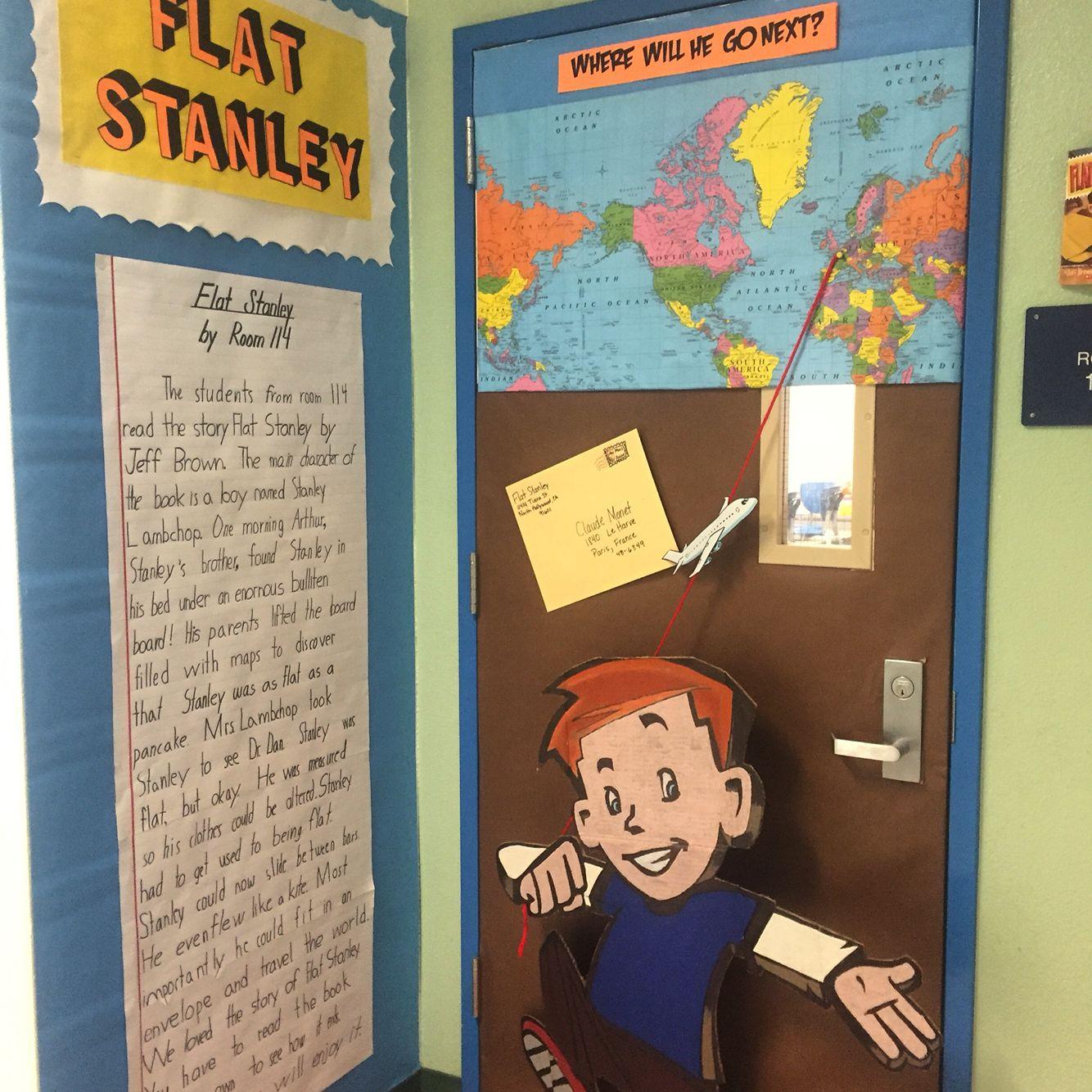 Flat Stanley Door Decoration