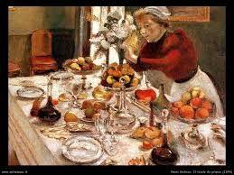 La Tavola Imbandita.Henri Matisse La Tavola Imbandita 1897 Olio Su Tela