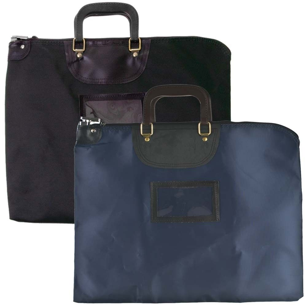 19 W X 15 H Hipaa Locking Courier Bags W Handles Deposit Bags Bags Courier