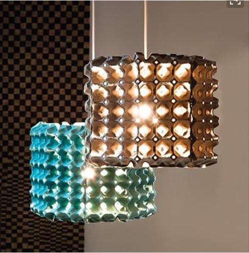 Ideas Para Hacer Lamparas Originales Con Materiales Reciclados - Ideas-para-hacer-lamparas