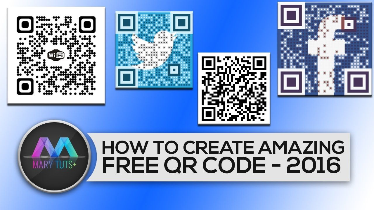 How to Create a amazing FREE QR Code Generator2016 Free